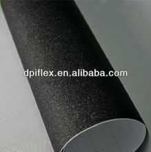 Dull polish shiny glitter car/window wrapping film