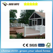 Cheap building materials wpc handrails,wpc fence railing