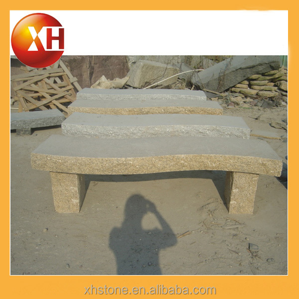 Natural stone and mosaic garden bench for outdoor furniture