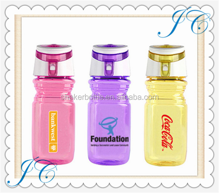 Hot sale suitable for bike traveling sport drink water plastic bottle for promotion