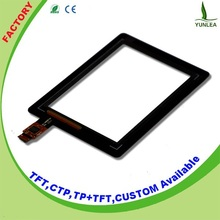 6H Surface Hardness capacitive touch panel screen 3.5""