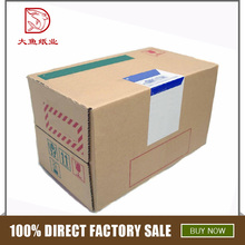Bulk wholesale outer disposable display corrugated price boxes packing