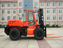 new balanced type off road forklift 3 ton all rough terrain forklift