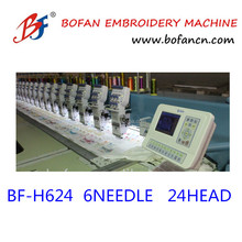 24 head hot sale 1200 rpm high speed tajima embroidery machine for sarees