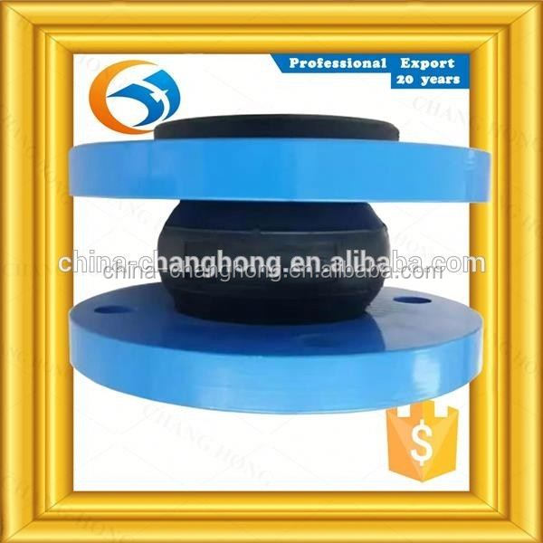 DN1000 factory supplies flanged end reduced rubber joint soft