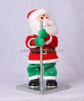 pole dancing santa clause