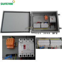 DC 1000V 12 Way Combination Lock Safe Box Solar Combiner Box