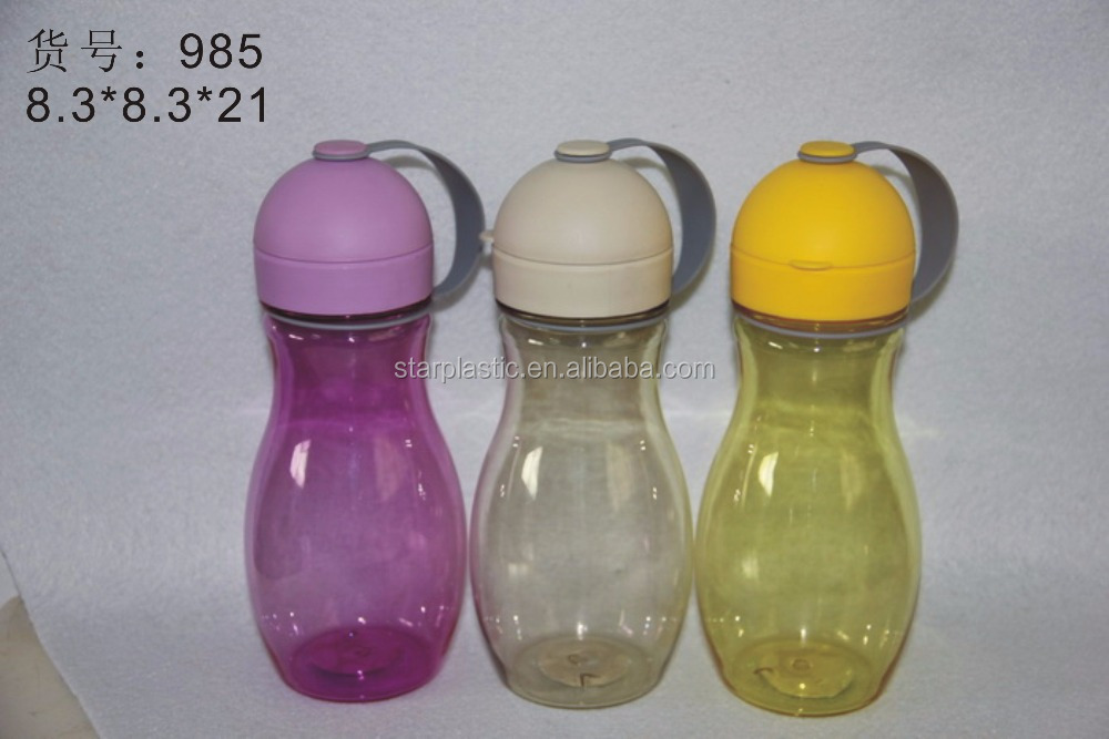 Manufacturers direct Gourd shaped new design plastic water bottle