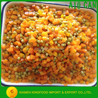 A10 Canned Mixed Vegetables to USA market 3000/1800g