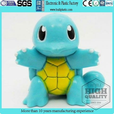 plastic mini cartoon animal figurine for children/tortoise pvc cartoon animal