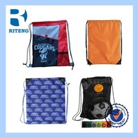 eco recyclable nylon foldable shopping bag