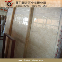 Cream Beige Marble Slabs with Good polished finish