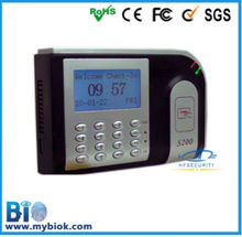competitive price Fingerprint and smart card recorder,time attendance device( HF-S200)