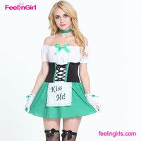 NO MOQ Germany Oktoberfest Sex Gril Halloween Costumes China Wholesale