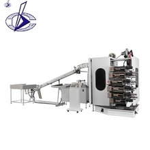 Best Quality High Speed 6 Color Plastic Cup Flexo Printing Press Machine Price For Sale