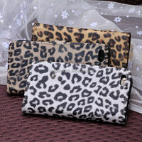 Animal leopard leather wallet phone case for iphone 5c, for iphone 5c case leather wallet ,for iphone case 5c