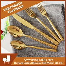 2016 Promotion gold cutlery set,cutlery holder,bulk cutlery in China