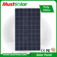 Normal Specification and Home Application Solar Panels 250 Watt