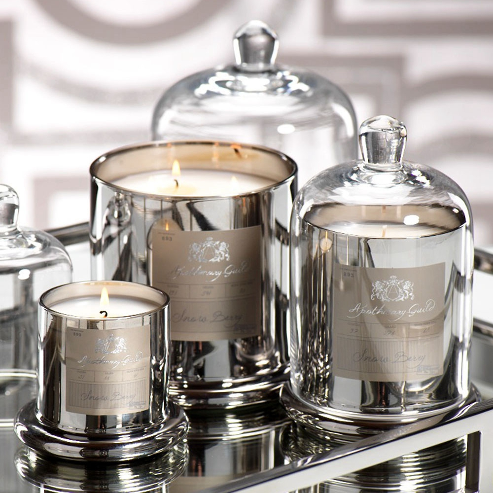 argent en forme de d me pot parfum e bougie de luxe bougie id de produit 60496837958 french. Black Bedroom Furniture Sets. Home Design Ideas