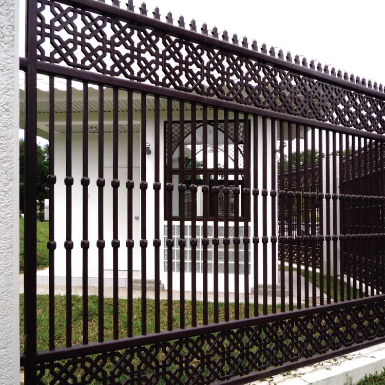 TEN SPIKED SPEAR FINIALS Iron Cast  Wrought Garden Fence