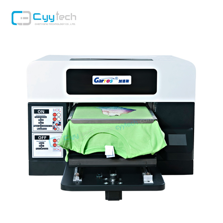 CYY TS-3042 t shirt printing machine t-shirt dgt 3d t-shirt printer for sale