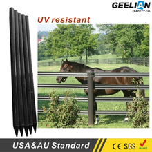 (customized) 4inch Plastic Composite Fence Post/recycled plastic horse post fence/Used farm fencing