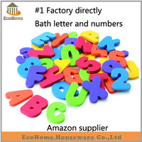 foam bath toy for kids bath time,including letter and numbers