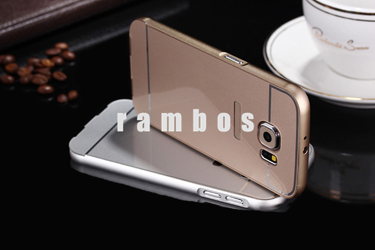 New Mobile Accessories 2016 Smartphone Bumper Back Cover case for Samsung Galaxy s5 s6 s6 edge note3 note4