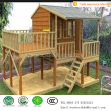 Outdoor Wholesale Wooden Kids Playhouse