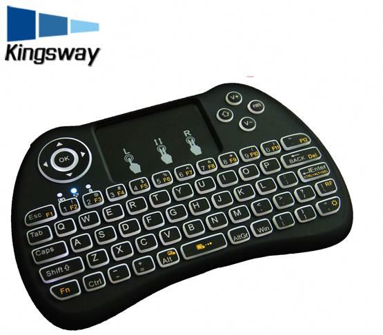 Newest android tv stick keyboard h9 Pro with 2.4g mini keyboard for smart tv box