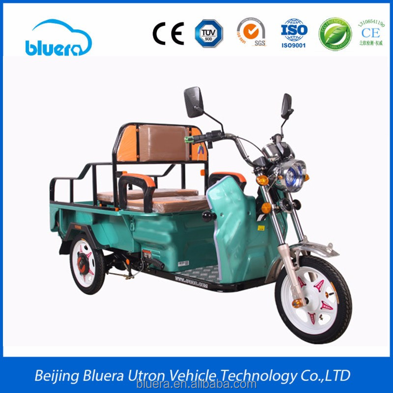 Bluerebike Camel T2 500~2000W Motor 48V-60V - 20AH-100AH cheap cargo adult 3 wheel electric motorcycle prices