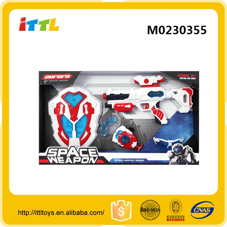 Space electronic toy weapon for kids