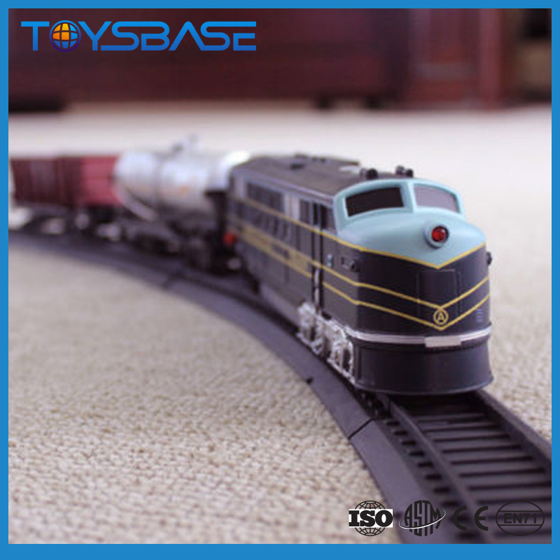 Christmas Kids Gift 1:87 set toy ho scale model electric tourist rc train