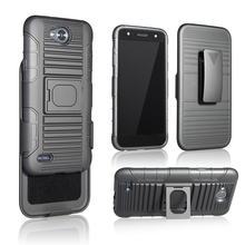 2017 Manufacturer Dual Layer Rugged Hybrid Impact Protective Phone Case for LG K8 2017