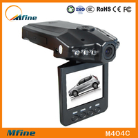 2015 hot sale!night vision best car camera recorder with120 degree view angel H198