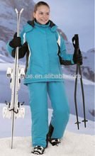 Crane sports branded colorful ski wear and snow wear