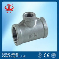 stainless steel pipe joint threaded reducing tees we are wholesaler welcome field investigation