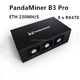 hot sales PandaMiner B3 Pro hash rate 230MH/s 8 x RX470 gpu Professional ETH Graphic card Miner