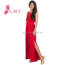 2016 Newest Design Casual Sleeveless women plus size fashion jumpsuit