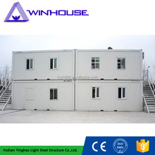 modular 20ft container house sandwich panel steel structure living house