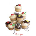 13 Cups wedding 3 tier Cupcake Stand,cake stand