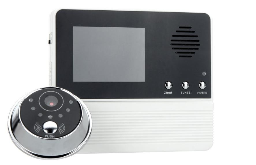 Good night vision door peephole camera with polyphonic ringtones