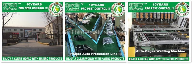 Haierc plastic polycarbonate bird spikes bird control