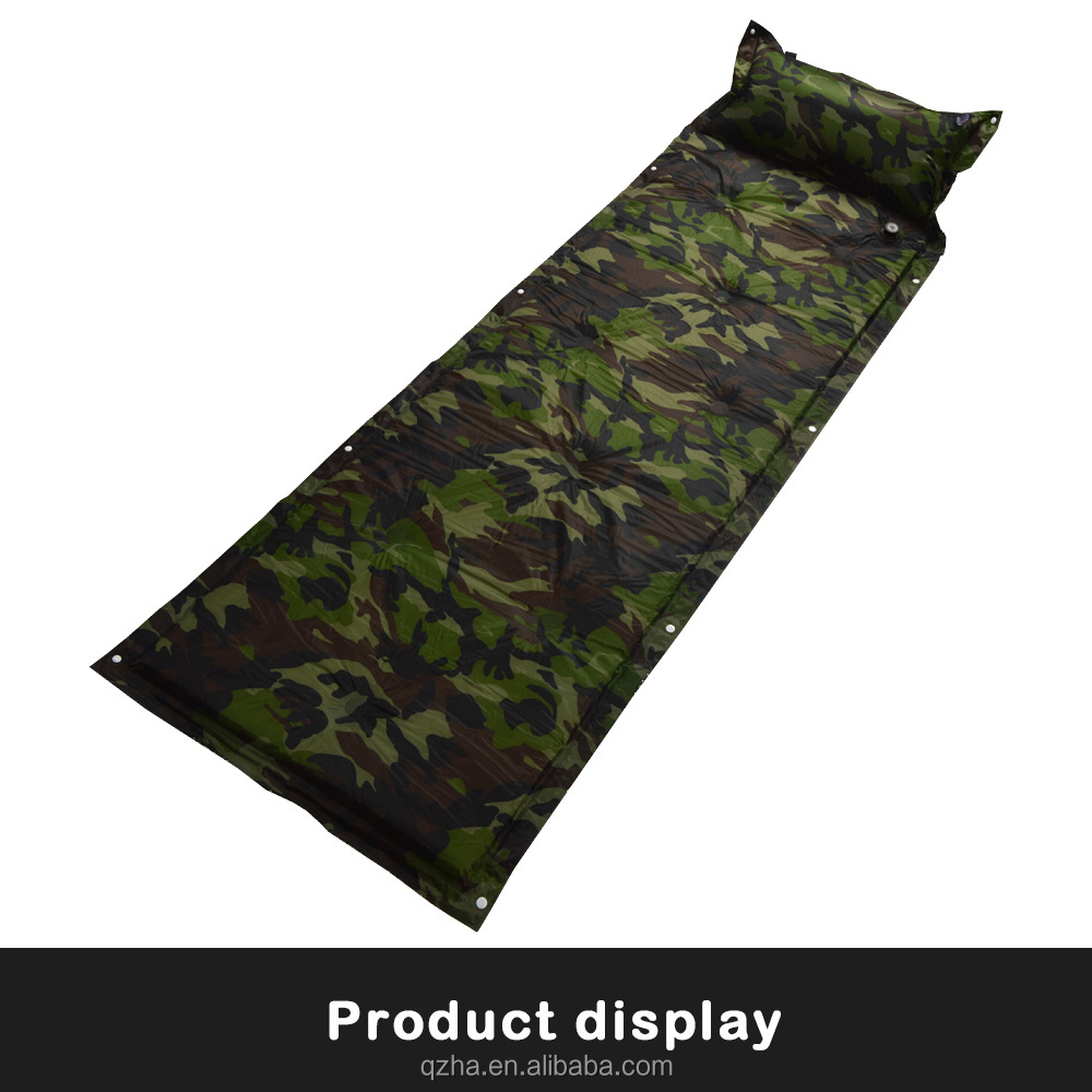 top high quality self inflating sleeping mat,waterproof beach mat