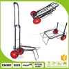 Outdoor folding luggage trolley bag/factory price supermarket hand trolley cart