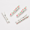custom printed clothes pins logo plastic peg