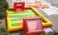 2014 high quality inflatable football pitch