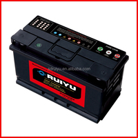 DIN88AH 12V charged motor vehicle used calcium auto car battery