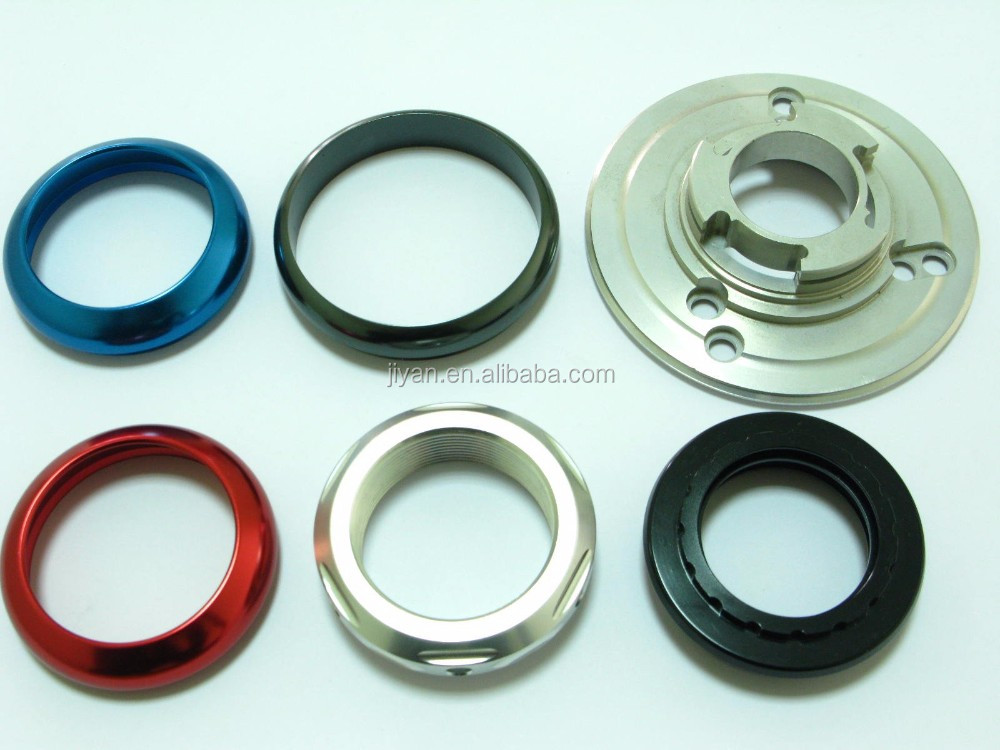 Customized high precision CNC plating color cover/nonstandard part/shaft rc aluminum parts
