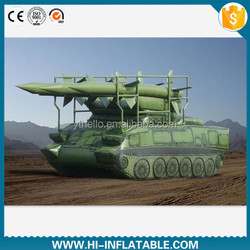 Hot sale inflatable military armored car model, inflatable Automitrailleuse model, inflatable panzer model for advertising